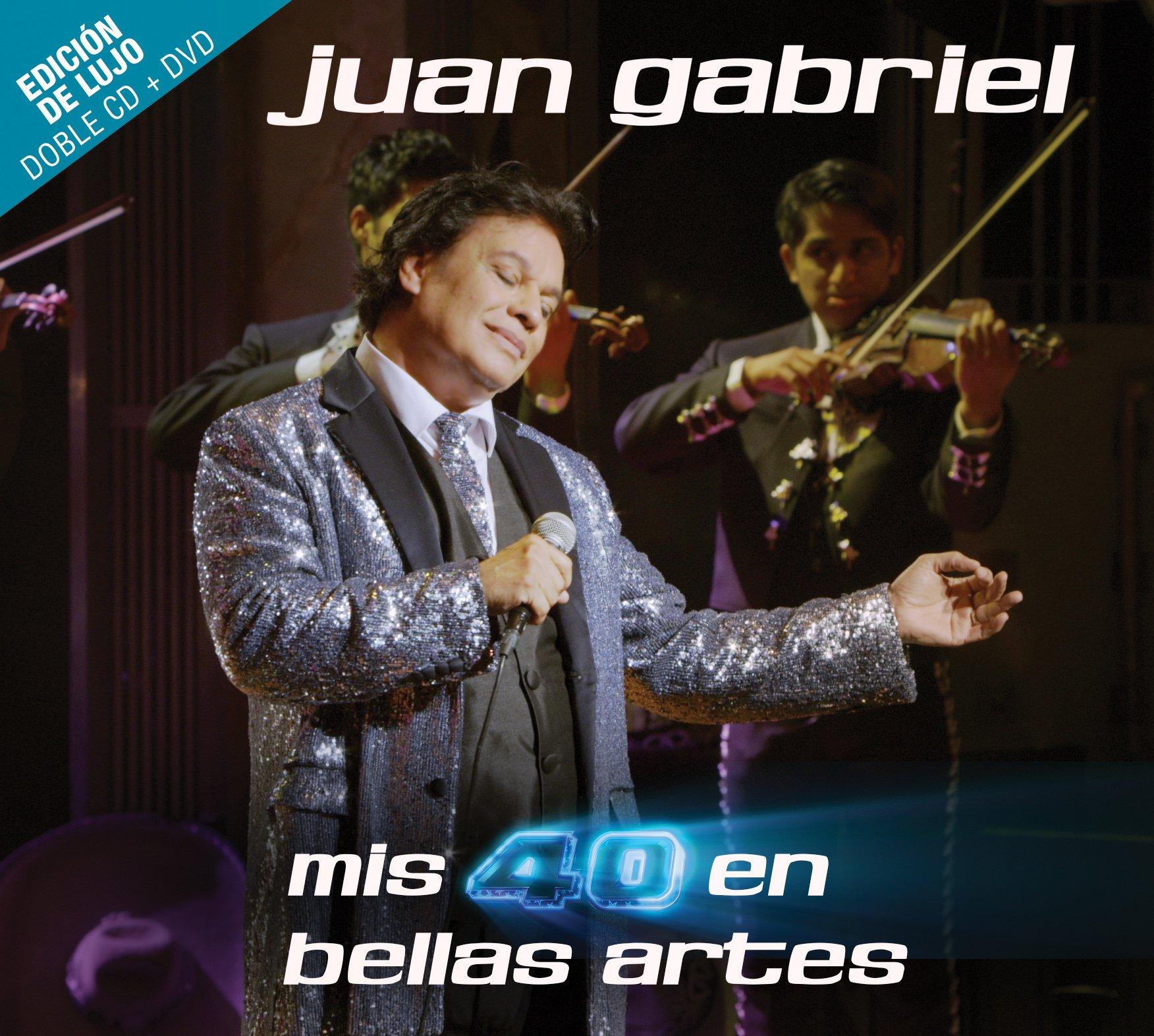 CD : Juan Gabriel - Mis 40 En Bellas Artes [Deluxe Edition] [2CD/ 1DVD] (With DVD, Deluxe Edition, 3 Disc)