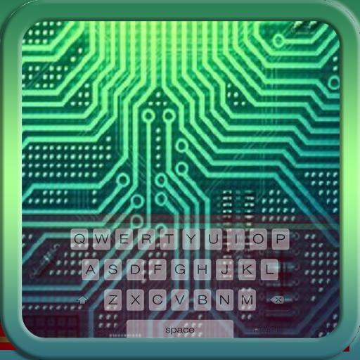Circuit Board Pcb Circuitry Electronics Keyboard Theme Free