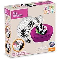 MGM - MGM77235 - Loisirs Créatifs - DIY - Coussin Panda à Décorer - Pluschraft