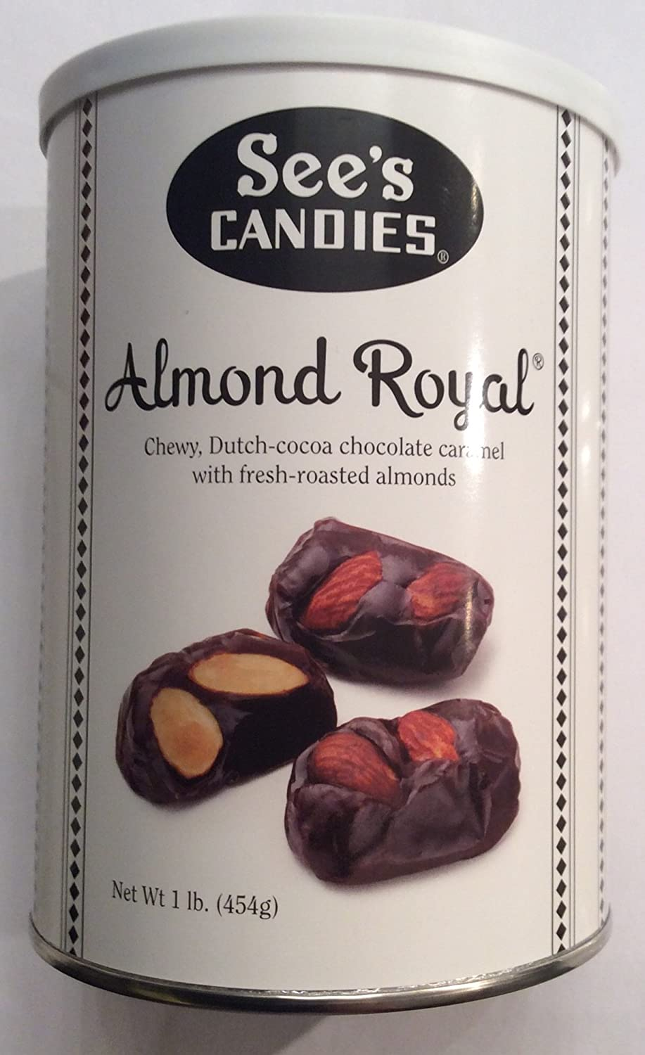 Amazon.com : See's Candies Almond Royal® 1 Lb (1 pack) : Grocery ...