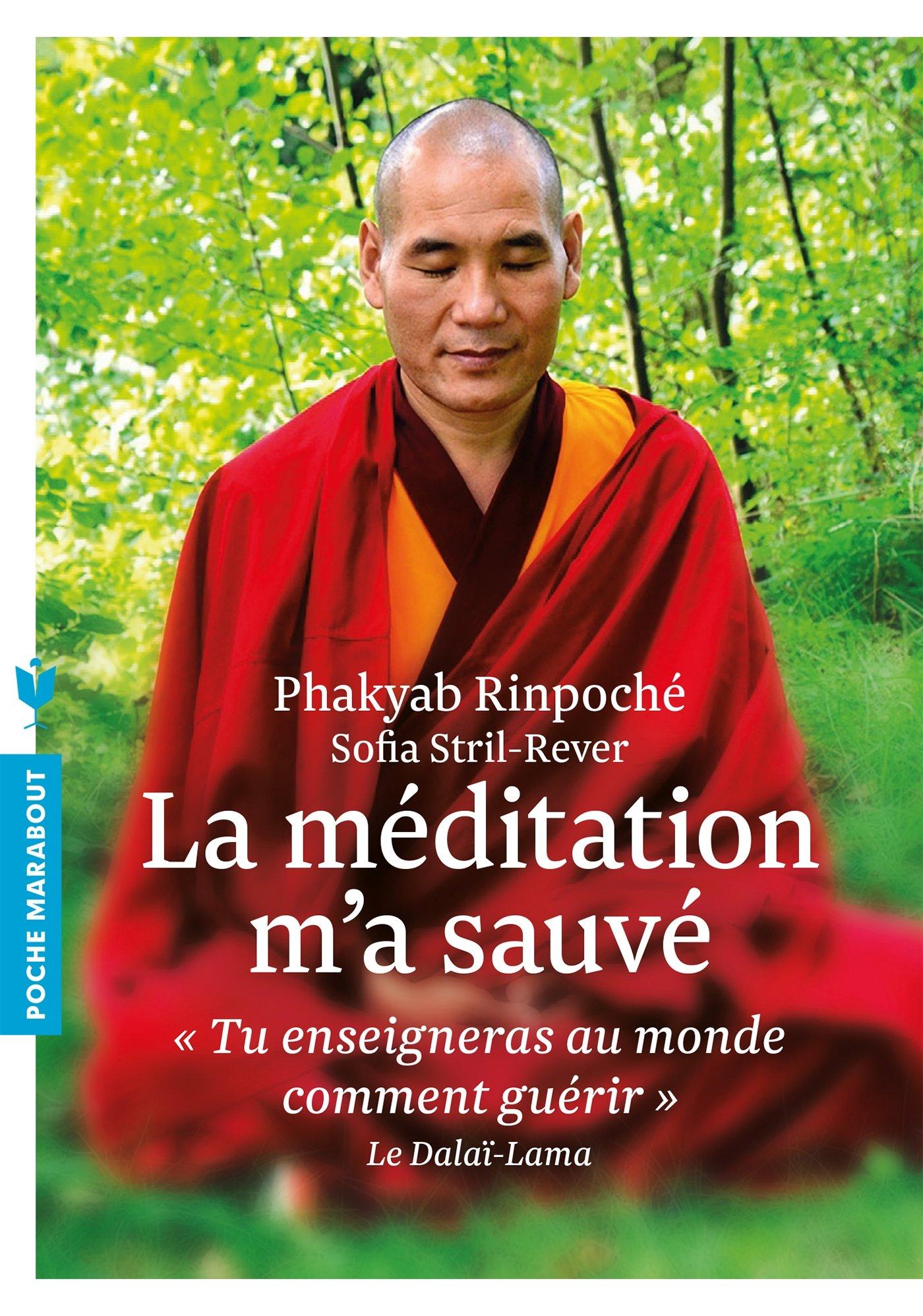 Amazon.fr - La méditation m'a sauvé: « Tu enseigneras au monde comment  guérir » Le Dalaï-Lama - Phakyab Rinpoché, Sofia Stril Rever - Livres