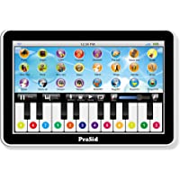 Prasid 2915 - 2.1 Kids 20 Key Music Learning Centre Synthesizer with Key Record and Play, White