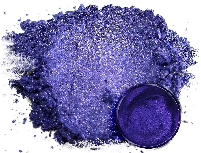 "Mica Powder Pigment ""Purple Jam"" (50g) Multipurpose DIY Arts and Crafts Additive | Woodworking, Epoxy, Resin, Paint, Soap, Natural Bath Bombs, Nail Polish, Lip Balm (Purple Jam, 50G)"