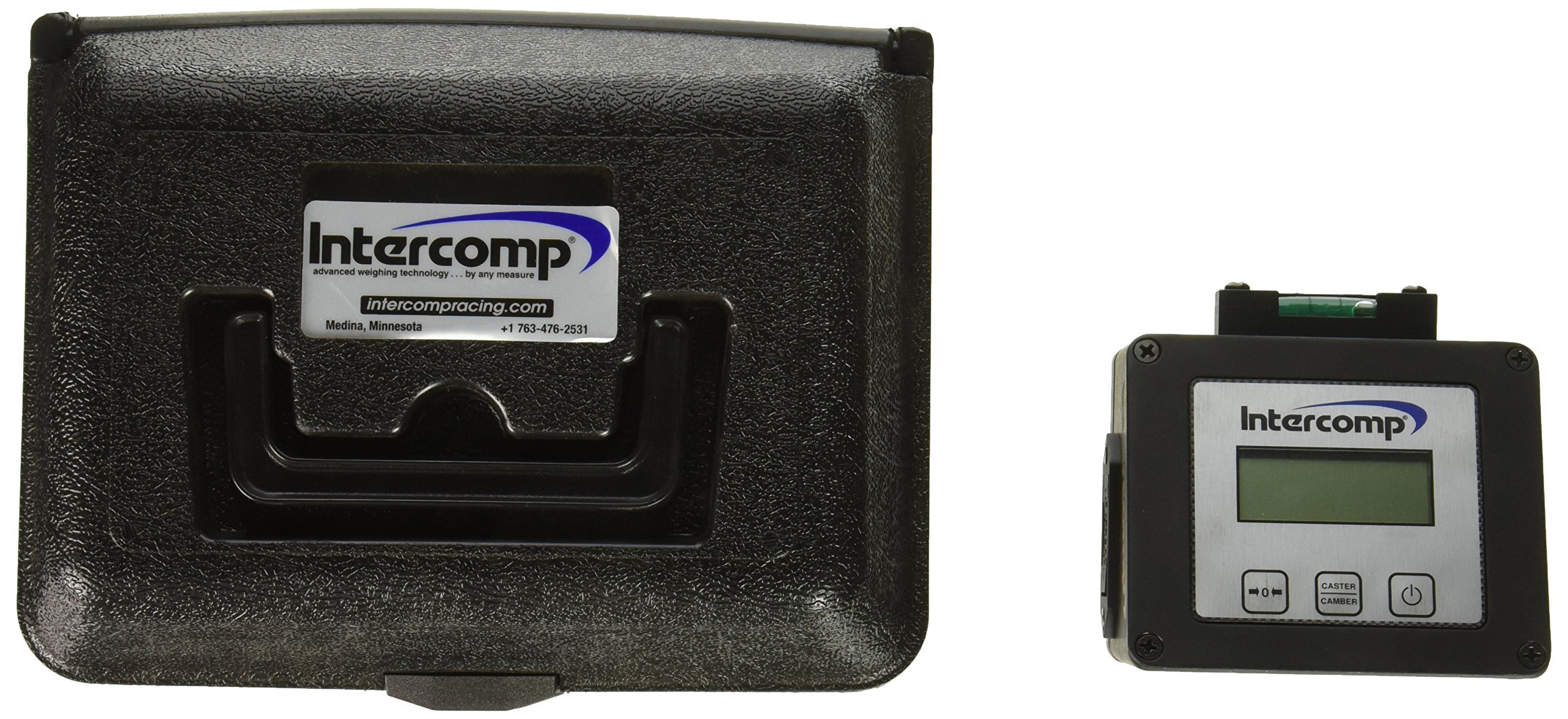 Intercomp 100005 Digital Caster Camber Gauge with Magnetic Adapter and Case