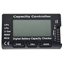 "Jrelecs 2.1"" Screen RC Cell Meter-7 Digital Battery Capacity Checker for NiCd / NiMH / LiPo / LiFe /"