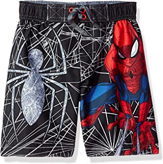 7a7de8ee2f78d Marvel Ultimate Spider-Man Little Boys Superhero Swim Trunks Board Shorts