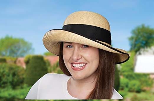 508e760b56ad8 Amazon.com  Tilley R2 Women s Raffia Hat  Clothing