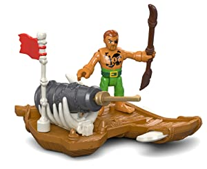 Fisher-Price Imaginext Captain Kid & Surfboard