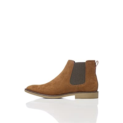 Brand - find. Men's Suede Look Chelsea Boots: Shoes