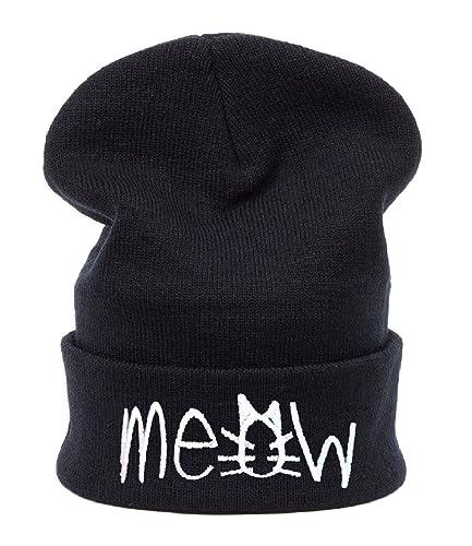 Inverno cappello vuqzivg MEOW Bad Hair Day HATS Fashion per sci e Snowboard Morefazltd Cap