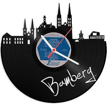 GRAVURZEILE Grabado Línea Tocadiscos Reloj de Bamberg