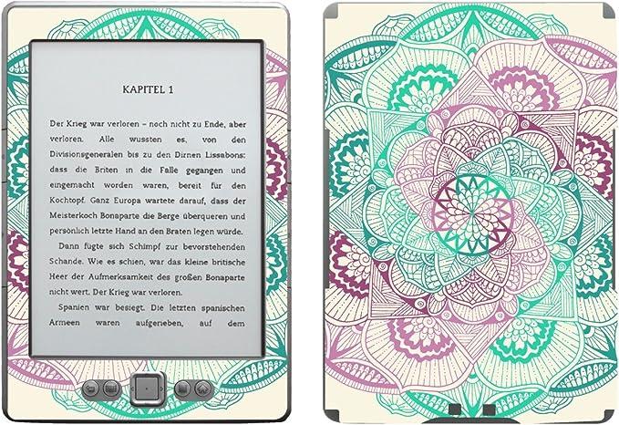 Disagu SF de 103567 _ 911 Diseño Protector de Pantalla para Amazon Kindle 4 eReader Diseño Mandala Vertebral Rosa Transparente: Amazon.es: Informática
