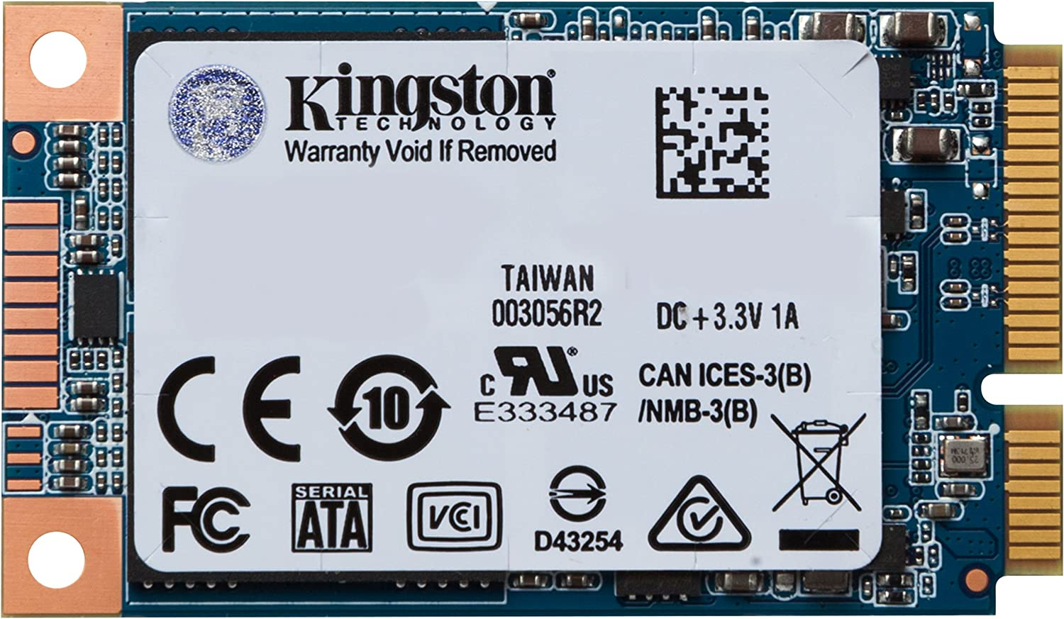 KINGSTON Digital SUV500MS/120G 120GB SSDNOW UV500 Msata SSD 3.5 Internal Solid State Drive