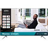 Hisense 85-Inch 4K Ultra HD Android Smart TV with Alexa Compatibility (85H6570G, 2020 Model)