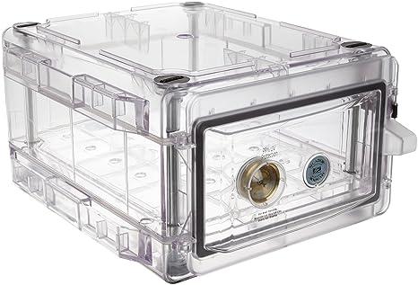 Bel-Art Secador Clear 1.0 Vertical Desiccator Cabinet; 0.7 cu. ft. (