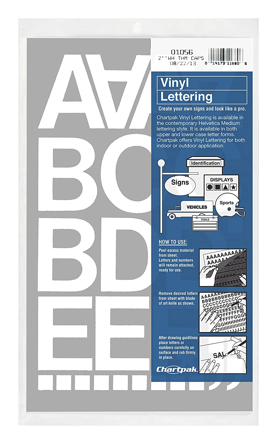 Amazon Chartpak Vinyl Letters and Numbers Home & Kitchen