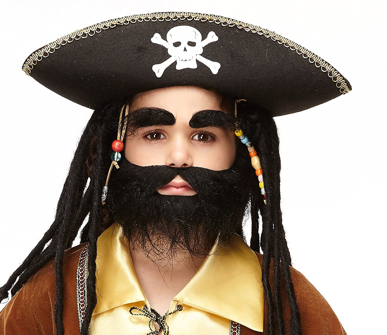 tigerdoe beards 4 pack long beard costume 23 beards fake