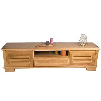 treesure lowboard o eiche massiv massivholzlowboard sideboard wohnwand kommode wohnzimmerschrank
