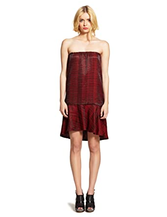 Rotes kleid kurz tragerlos