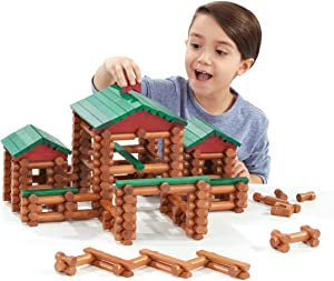 Lincoln Logs Classic Farmhouse - 268 All Wood Parts - Ages 3 & Up