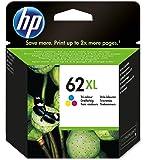 HP 62XL Cartuccia Originale Getto d'Inchiostro ad Alta Capacità, Tricromia