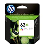 HP 62XL High Yield Tri-color Original Ink Cartridge (C2P07AE)