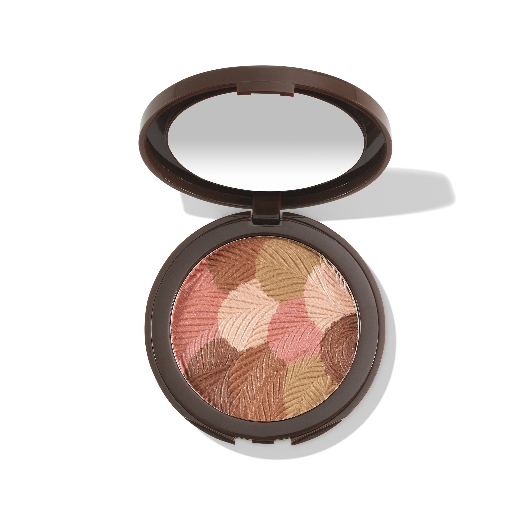 colored clay bronzer blush- peach bronze