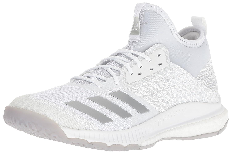 buy online 54b39 9f295 adidas Women s Crazyflight X 2 Mid Volleyball Shoe, White Silver  Metallic Grey, 13.5 M US  Amazon.fr  Chaussures et Sacs