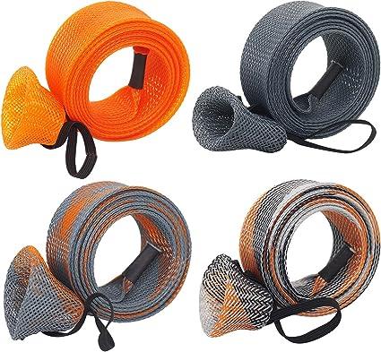 Stick Casting Fishing Rod Cover Pole Protector Braided Rod Sleeve Socks GloveJP