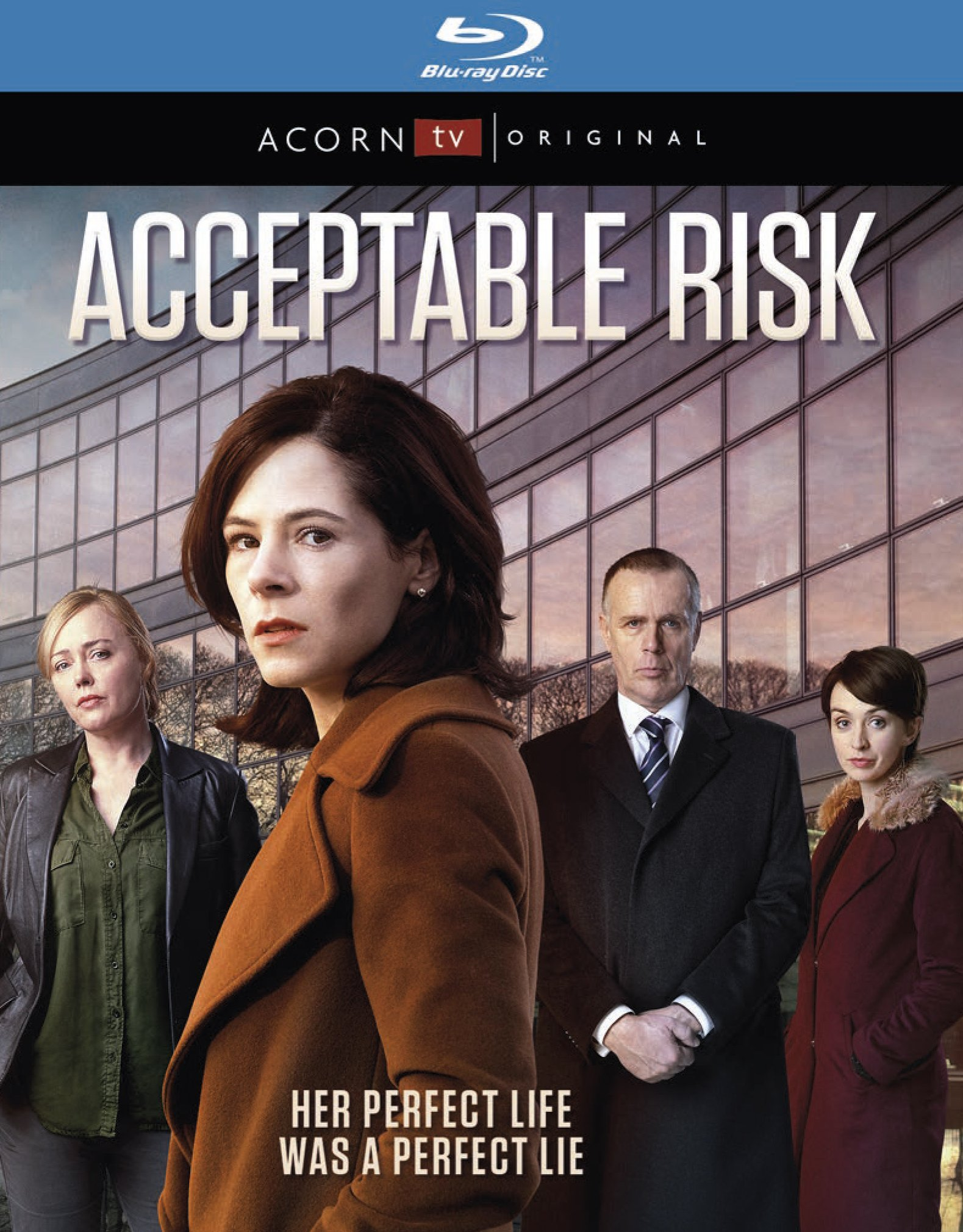 Blu-ray : Acceptable Risk (Blu-ray)