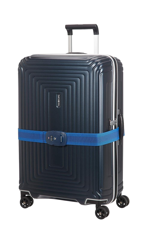 SAMSONITE Global Travel Accessories Midnight Blue Luggage Strap//TSA Lock Correa para Equipaje 190 Centimeters 1 Azul