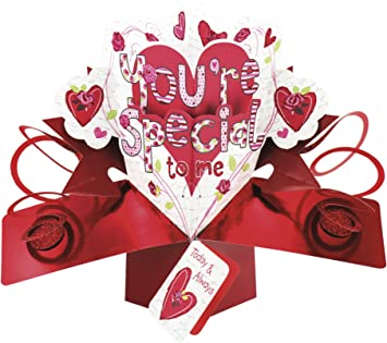 Second Nature Hearts And Flowers Design You Re Special To Me