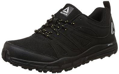 Reebok Men's Adventure Voyager Black/Yellow/Silver/Wht/Black Running Shoes -