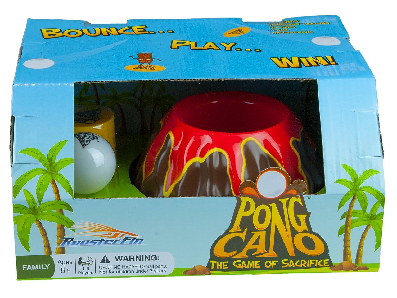 Amazon.com: PongCano Family Board Game – Ping Pong Bouncing ...