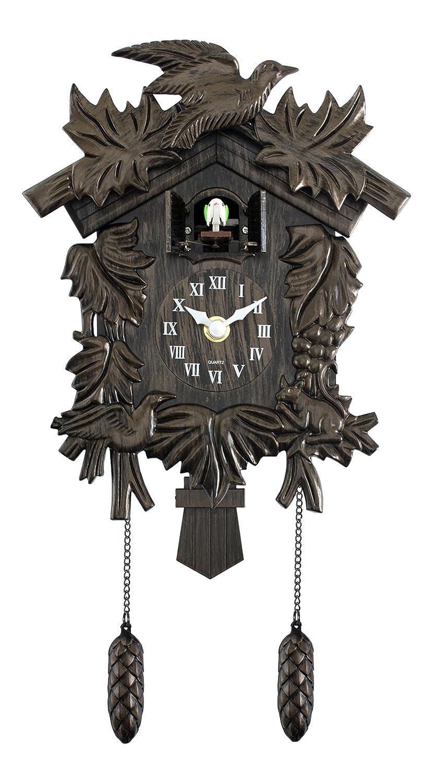 Acctim Hamburg Cuckoo Pendulum Wall Clock UKASNHKTN8448