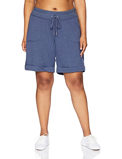 089b0d2149842 Calvin Klein Women s Plus Size Short W Rib Inset and Cuff at Amazon ...
