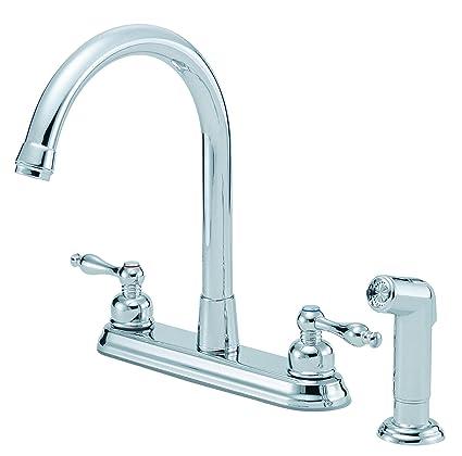 High Rise Kitchen Faucet Interior Design Photos Gallery