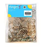100 Split Rings - 25mm - High Quality Key Rings