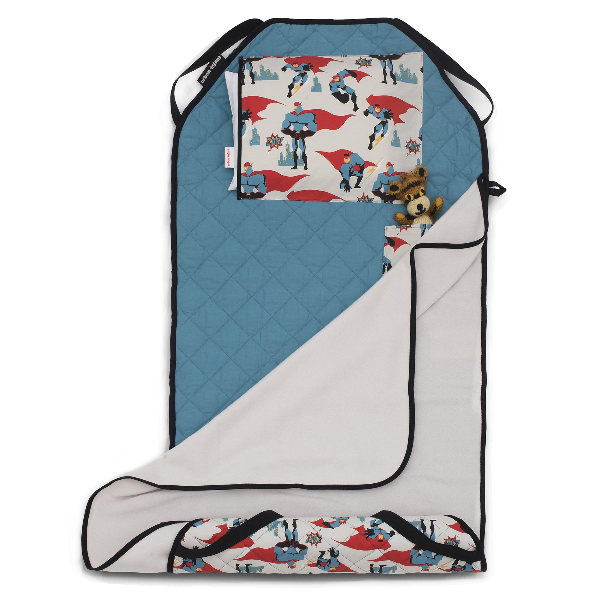 Urban Infant Tot Cot All-In-One Preschool/Daycare Toddler Nap Mat -Urban Dude