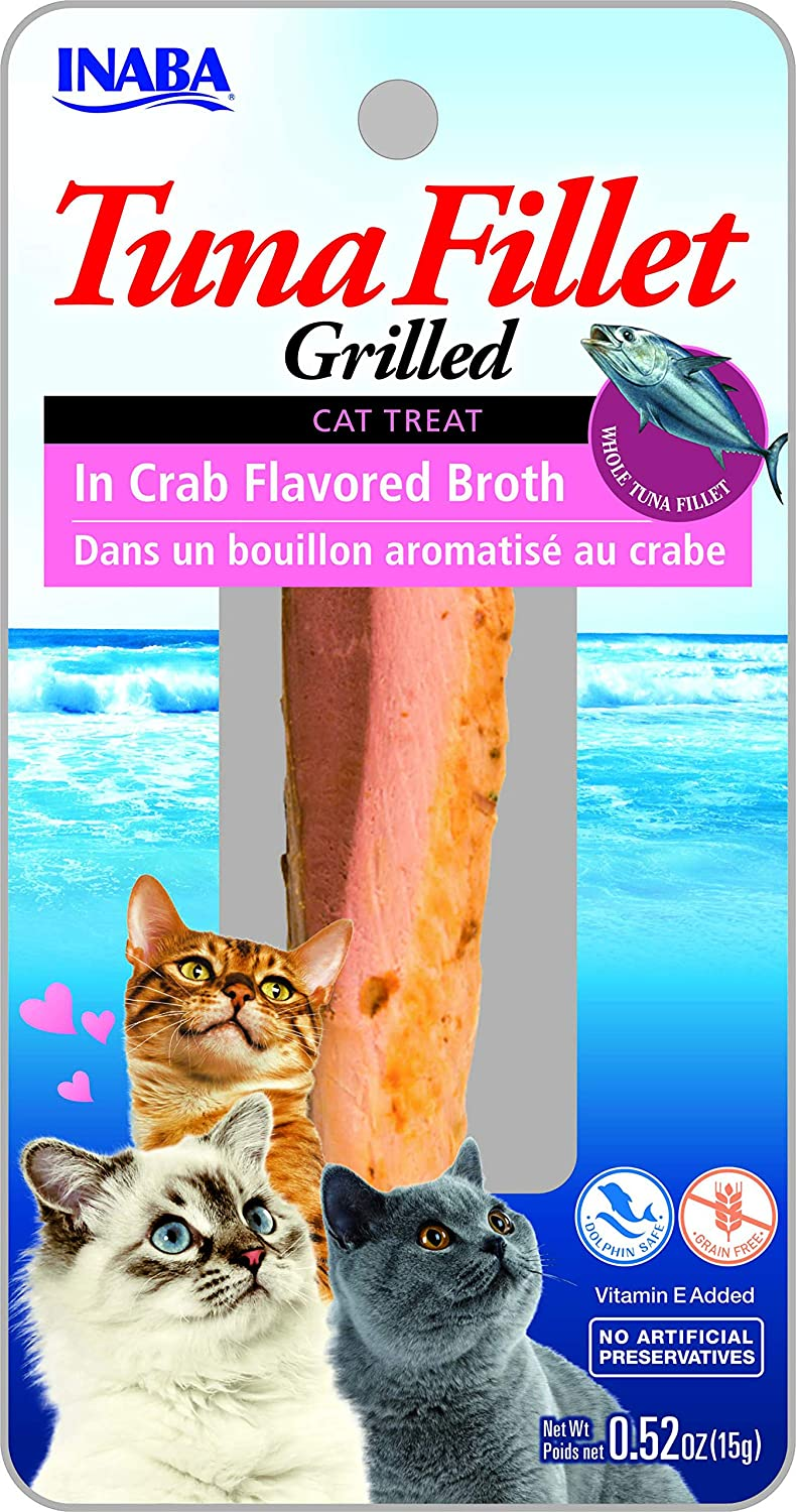 6 Pack (6 Pack) Ciao Grilled Tuna Fillets in Crab Bredh