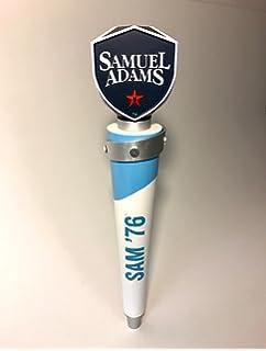 "Great Tap Samuel Adams Sam /'76 Tap Handle New Logo New in Box 10/"" Short"