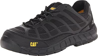 Caterpillar Men's Streamline Comp Toe Running Shoe,Black,7 ...
