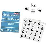 Herlitz Adhesive Numbers - Índices adhesivos numerados