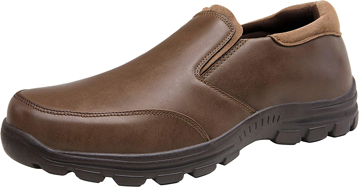 LISUWEN Men's Loafers Slip On Shoes Classic Casual Walking Shoes