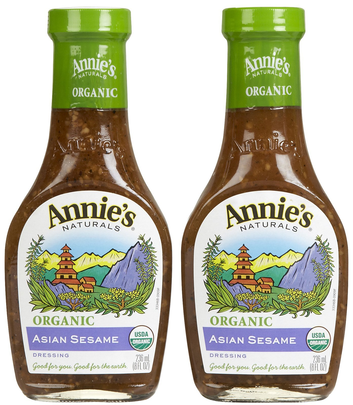 Annie's Naturals Organic Dressing Asian Sesame -- 8 fl oz