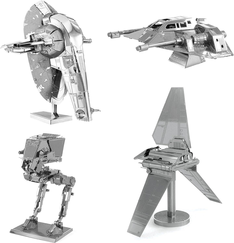Metal Earth Star Wars Slave I Laser Cut 3D DIY Model Building Kit Puzzle Toy