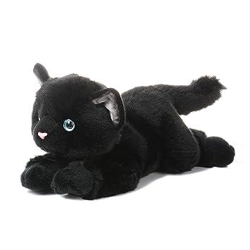 Aurora Nature Babies - Gato de peluche (30,4 cm), color negro: Amazon.es: Juguetes y juegos