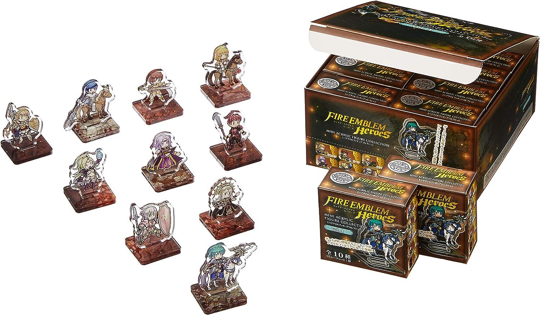 Fire Emblem Heroes Mini Acrylic Figure Collection vol 8 BOX Item 1 BOX = 10 pie