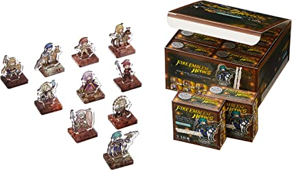 Fire Emblem Heroes Mini Acrylic Figure Collection Vol.7 all 10 Box