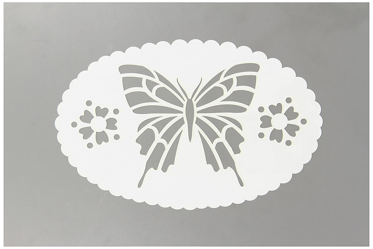 Amazon.com: FolkArt Large Painting Stencil, 30595 Butterfly Frame
